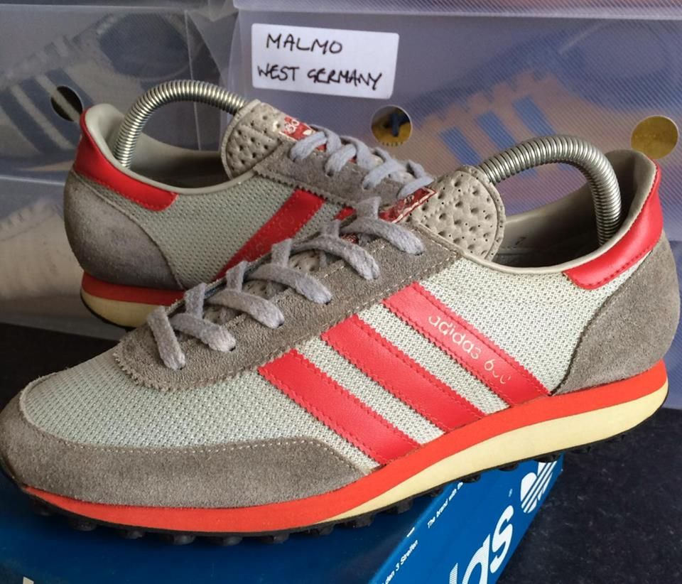 Adidas as 600 in red trim colourway adidas cool