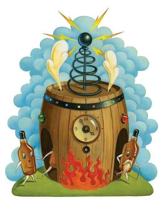 """""""Tested: A Chemical Time Machine Makes Whiskey Taste Older, Faster"""" Popular Science"""