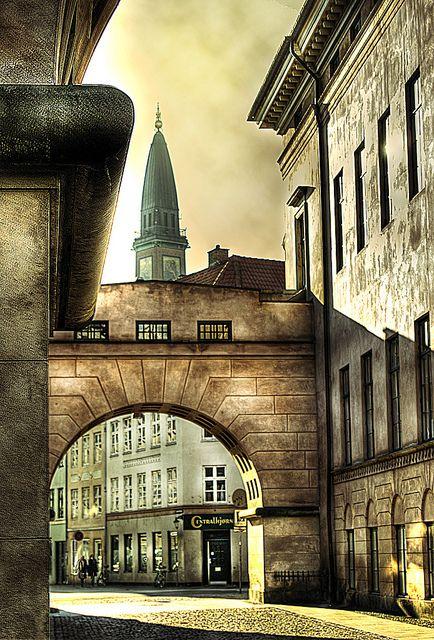 Range Stone Ponto Turistico ~ Copenhagen courthouse passage rua viagens e país