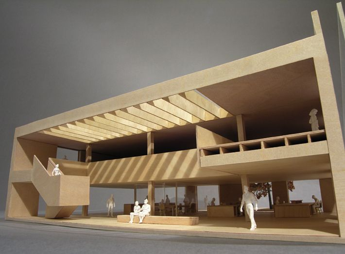 model section arquitectura maquetas pinterest models and architecture. Black Bedroom Furniture Sets. Home Design Ideas