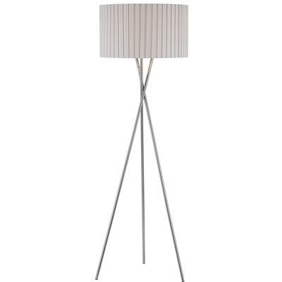Hampton Bay   60 In Floor Lamp, Chrome Finish   FL 3163 CH   Home