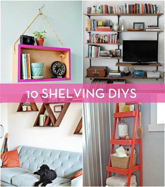 Famous Shelving Units Living Room Photos - Living Room Designs ...