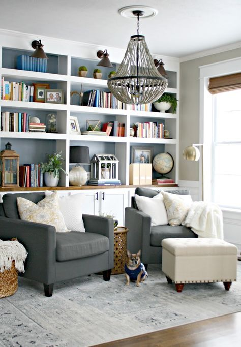 Den Library Design Ideas: Formal Living Rooms, Home