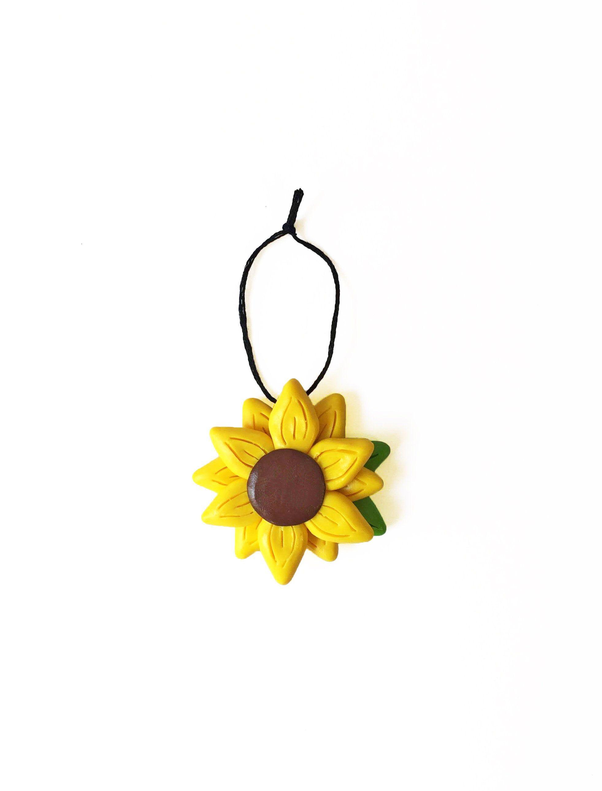 Sunflower Ornament Christmas Ornament Summer Ornament