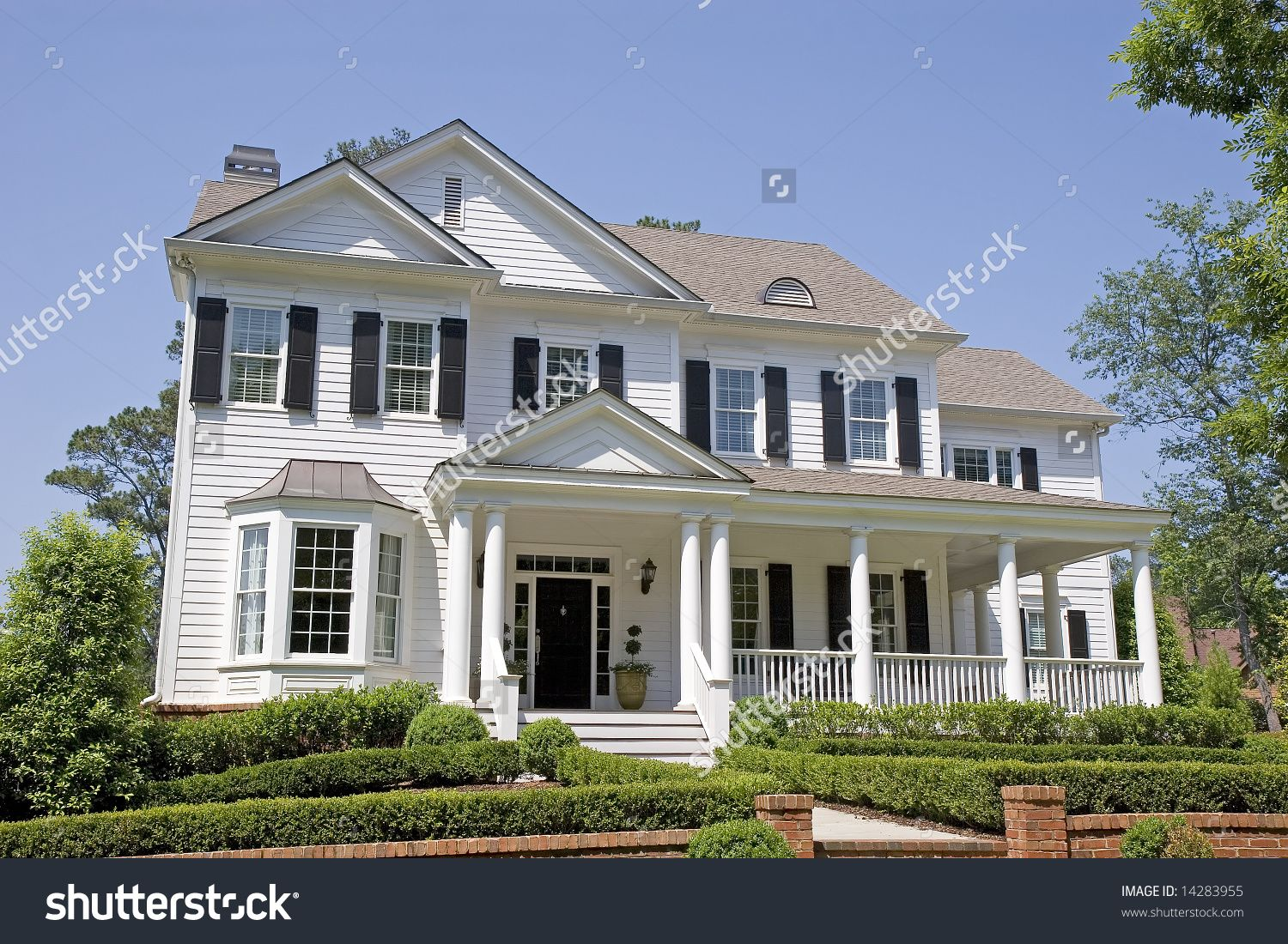traditional two-story house fronts - Google Search