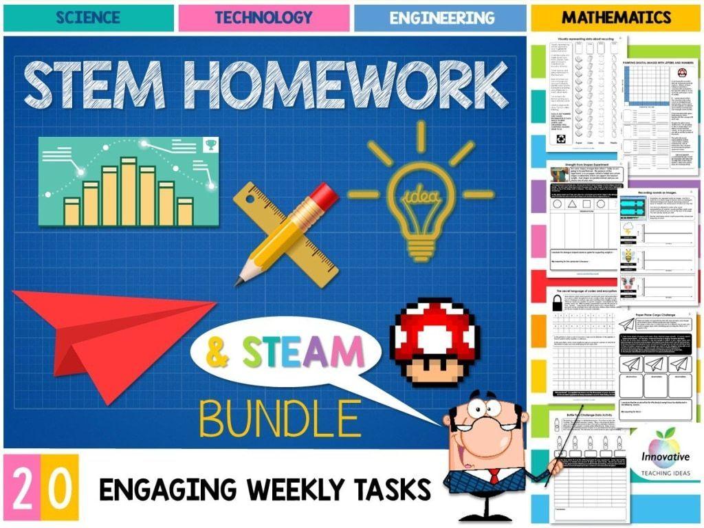 Stem Homework Tasks 20 Digital Technologies Design