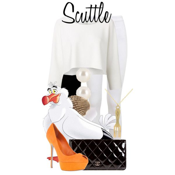 """""""Scuttle"""" by bethanybrooks on Polyvore"""