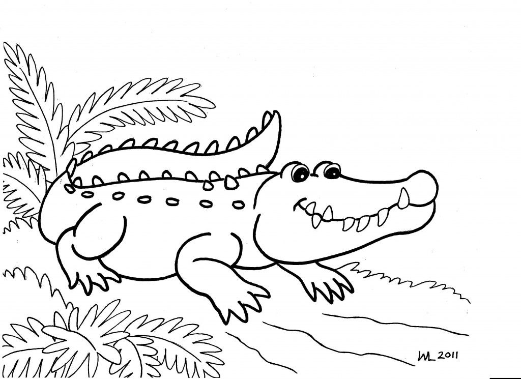 Free Printable Alligator Coloring Pages For Kids Animal Coloring Pages Snake Coloring Pages Coloring Pages To Print