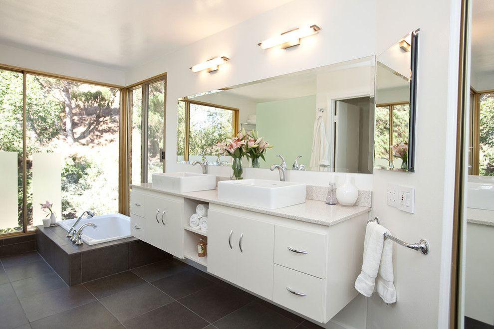 Innovative Strasser Woodenworks In Bathroom Modern With