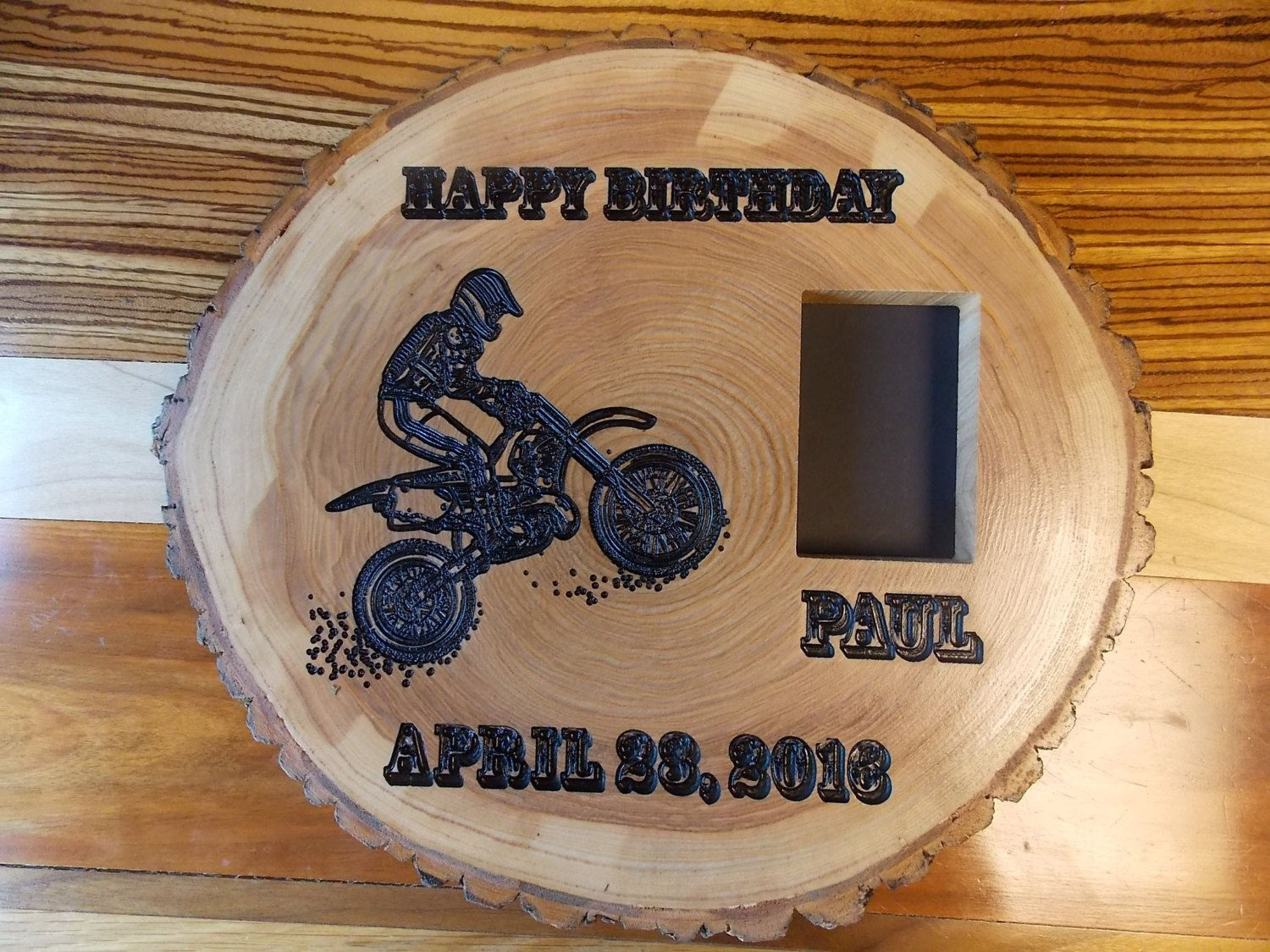 Motorcycle sign personalized motorcycle picture frame motorcycle sign personalized motorcycle picture frame motorcycle gifts reclaimed wood signs by jeuxipadfo Image collections