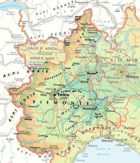 Cartina Geografica Piemonte Valle D Aosta.Cartina Geografica Piemonte E Lombardia Insieme Cerca Con Google Nel 2021 Geografia