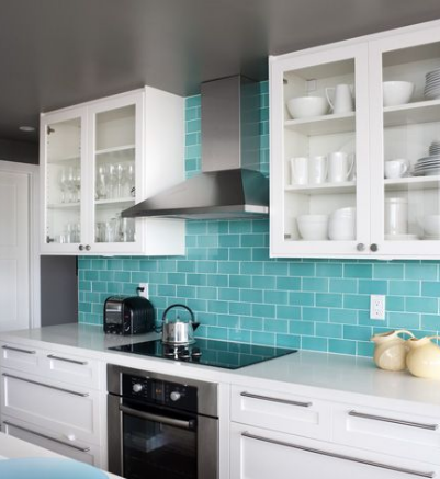 Tiffany Blue Kitchen Ideas For Decor And More Home Product Reviews Tiffany Blue Kitchen Turquoise Kitchen Kitchen Colors