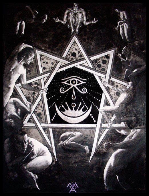 GOECIA LA LLAVE MENOR DE SALOMON Éste es el círculo mágico del rey Salomón, usado para la invocación de espíritus. Este grabado aparece en el Lemegeton, en concreto en el Libro I, dedicado a la Goe…