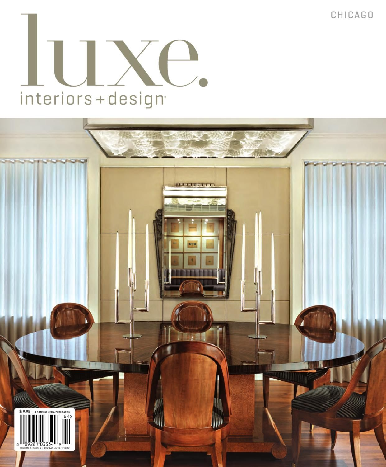 LUXE Interiors Design Chicago 16 Interior MagazineArchitecture DesignResidential