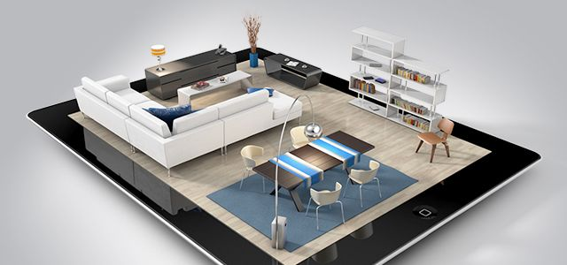IPad App Enables Augmented Reality Interior Design.