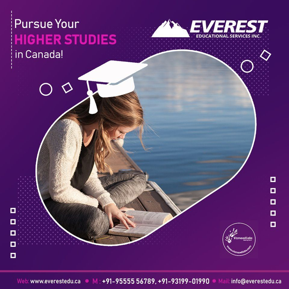 Pursue your higher studies in Canada, 2020 Tipografi