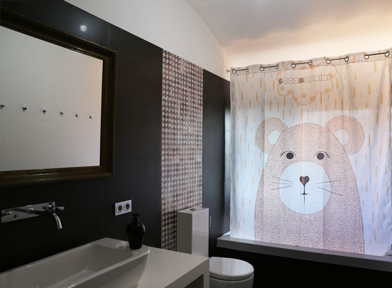 Cortinas de ba o cortinas de ba o originales cortinas de - Estor para ducha ...
