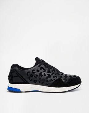 Adidas Originals ZX Zero Leopard Print Black Trainers