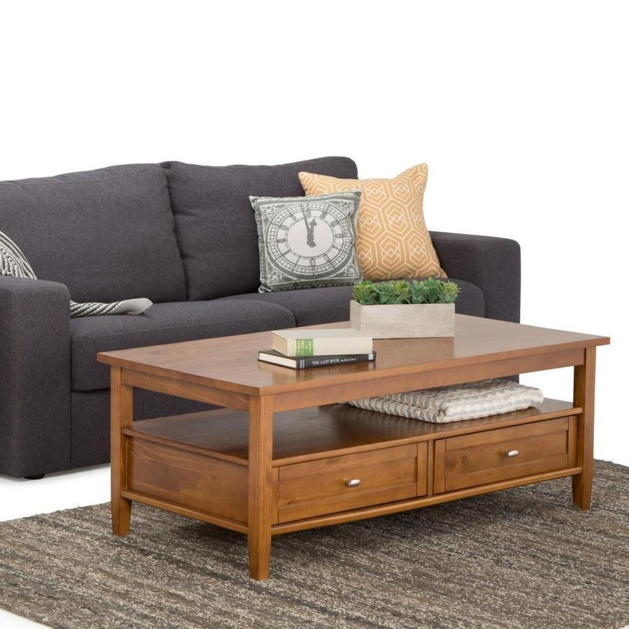Warm Shaker Coffee Table In 2021 Coffee Table Wood Coffee Table With Drawers Coffee Table [ 900 x 900 Pixel ]