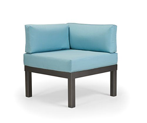 Contemporary Cappuccino Connect It Computer: Telescope Casual Furniture Ashbee Aluminum Sectional