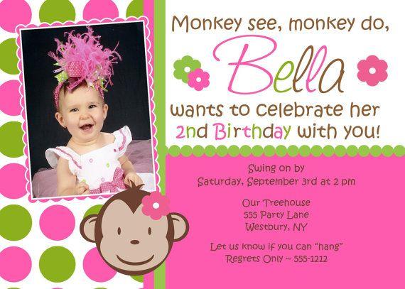 Mod monkey birthday invitation girl photo print by jcbabycakes mod monkey birthday invitation girl photo print by jcbabycakes 1200 filmwisefo