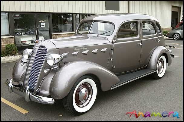 1937 Graham Model 116 Supercharger 4 Door For Sale Anamera Old Classic Cars Cool Old Cars Retro Cars