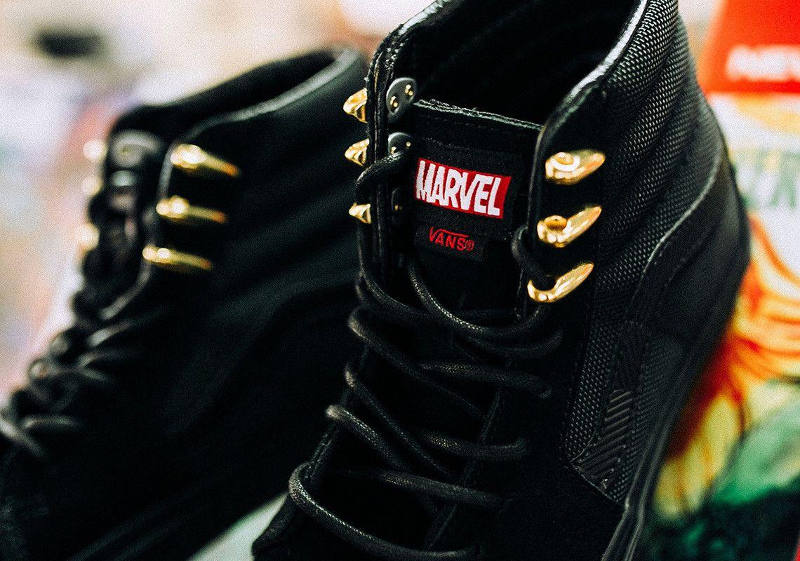 e854643682 Black Panther x Vans Sk8-Hi