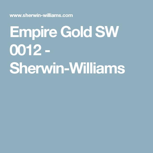 Empire Gold SW 0012   Sherwin Williams