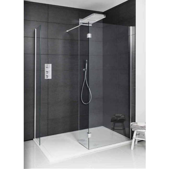 Simpsons Design View Double Sided Walk In Shower Enclosure - 2 Size ...