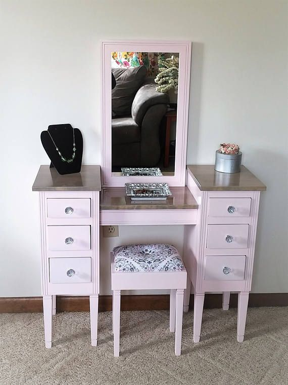 Pin By Lisa Shaw On Paint For Furniture Kids Makeup Vanity