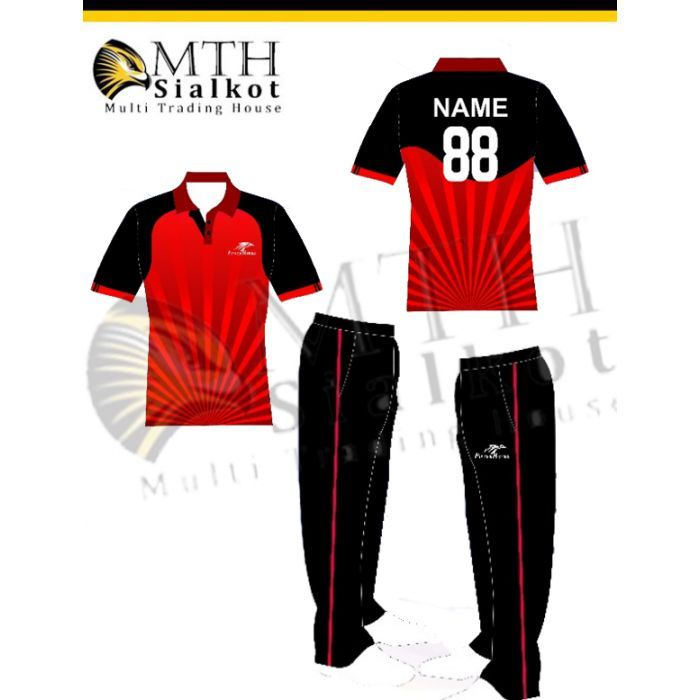 3b00c9095f6 Cricket Club Uniforms Custom made Sublimation printed Cricket kits, uniforms  jersey with sponsor logos in 100% polyester interlock and mesh fabric