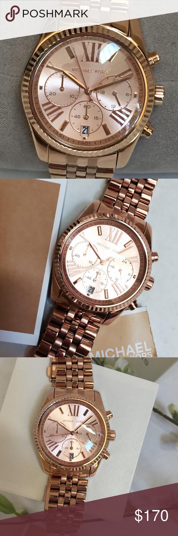 1b55cf6109f2 Michael Kors Lexington Watch MK 5569