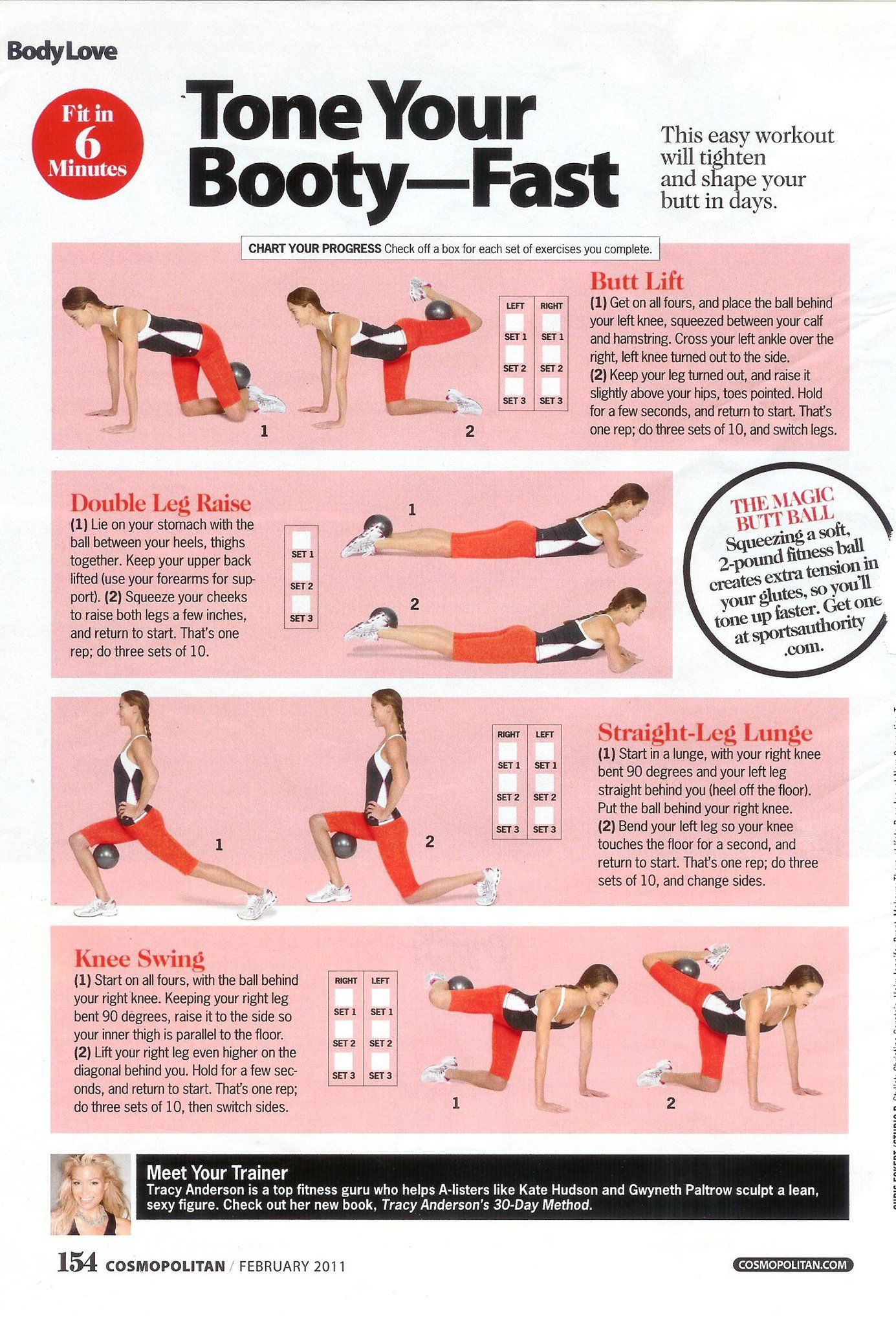 Exercises to tone your glutes and get an amazing butt