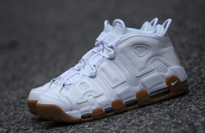 Detailed Look at the Nike Air More Uptempo 'White Gum' Fly Shìt