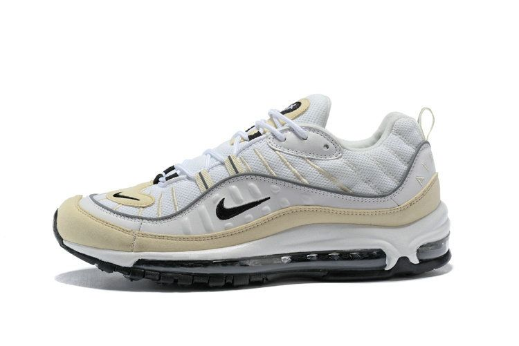 the latest 48ac2 258ac Where To Buy Nike Air Max 98 Fossil Ah6799 102 White Black-Fossil-Reflect