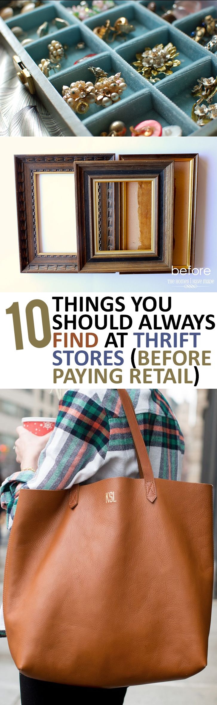 10 Things You Should Always Find at Thrift Stores Before Paying Retail