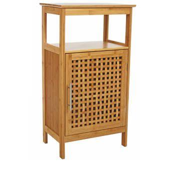 Meuble Bas Salle de Bain Bambou salle de bain