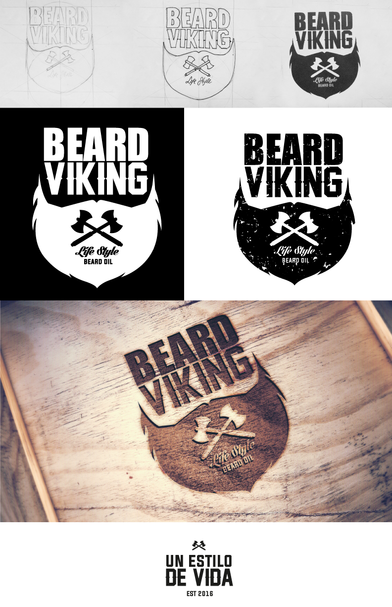 Logo/Branding for beard cosmetic products, Vikings
