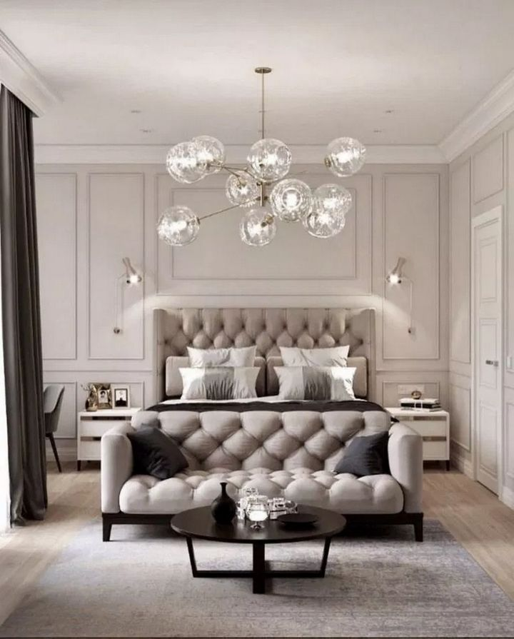✔️ 95 Lighting Ceiling Bedroom Ideas For Comfortable Sleep 5 Trendy Bedroom Lighting 35 #bedroomlighting