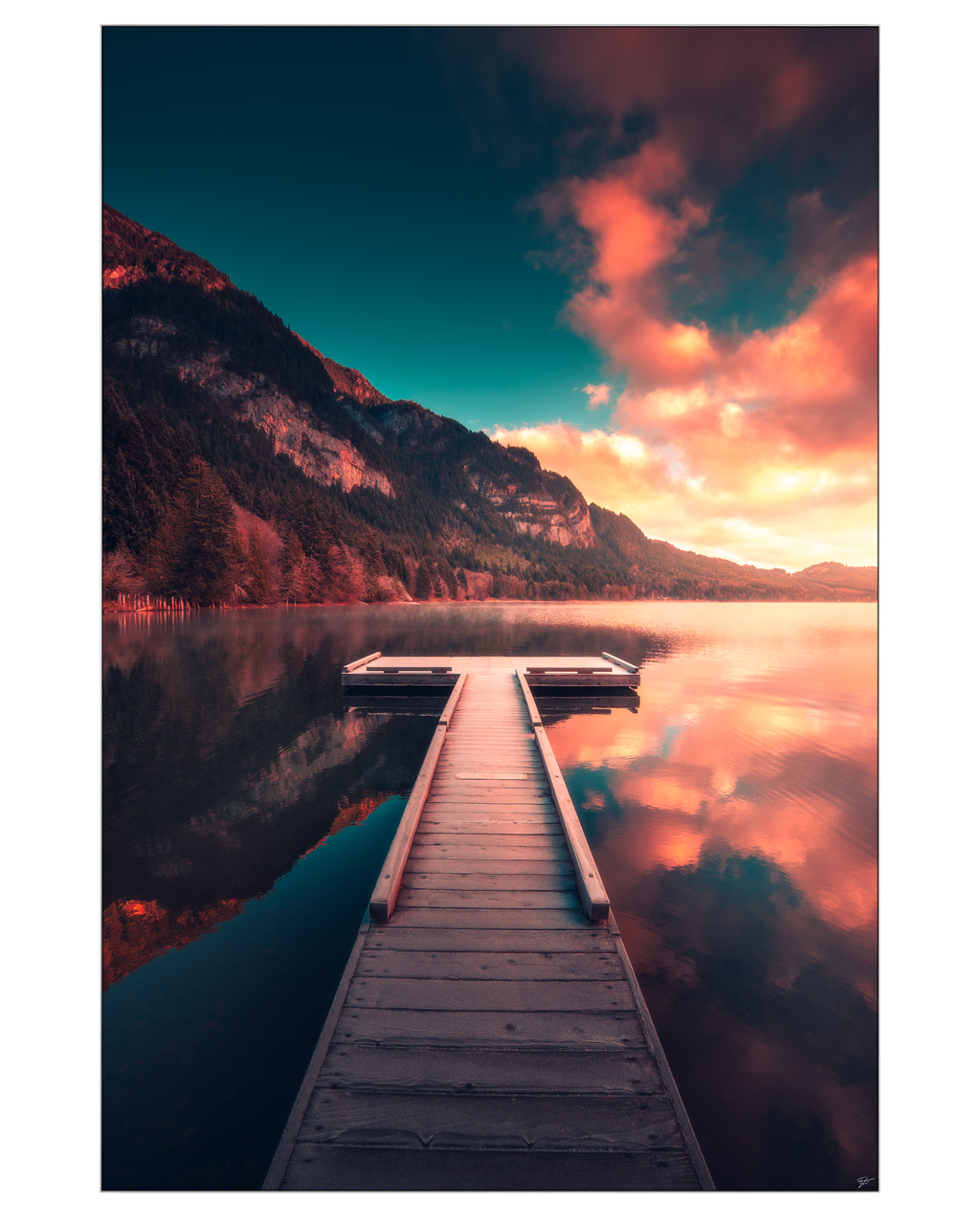 The Lake Of Tranquility Big Wall Decor In 2020 Beautiful Photography Nature Nature Photography Landscape Photography