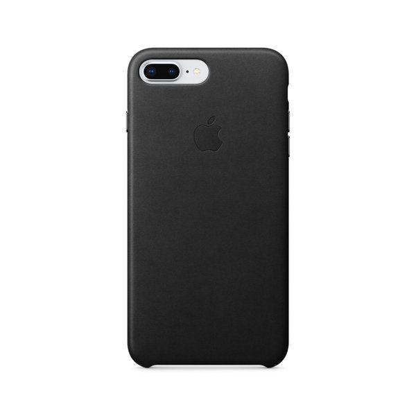 Apple Leather Case For Iphone 7 Plus 8 Plus Black Apple Leather Case Iphone Unicorn Iphone Case