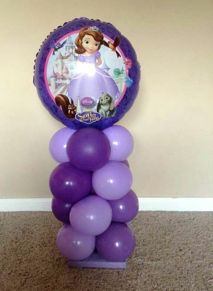 4615cbee8 Resultado de imagen para princesa sofia decoracion fiesta globos ...