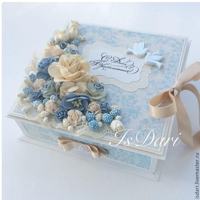 Коробочка на свадьбу для денежного подарка