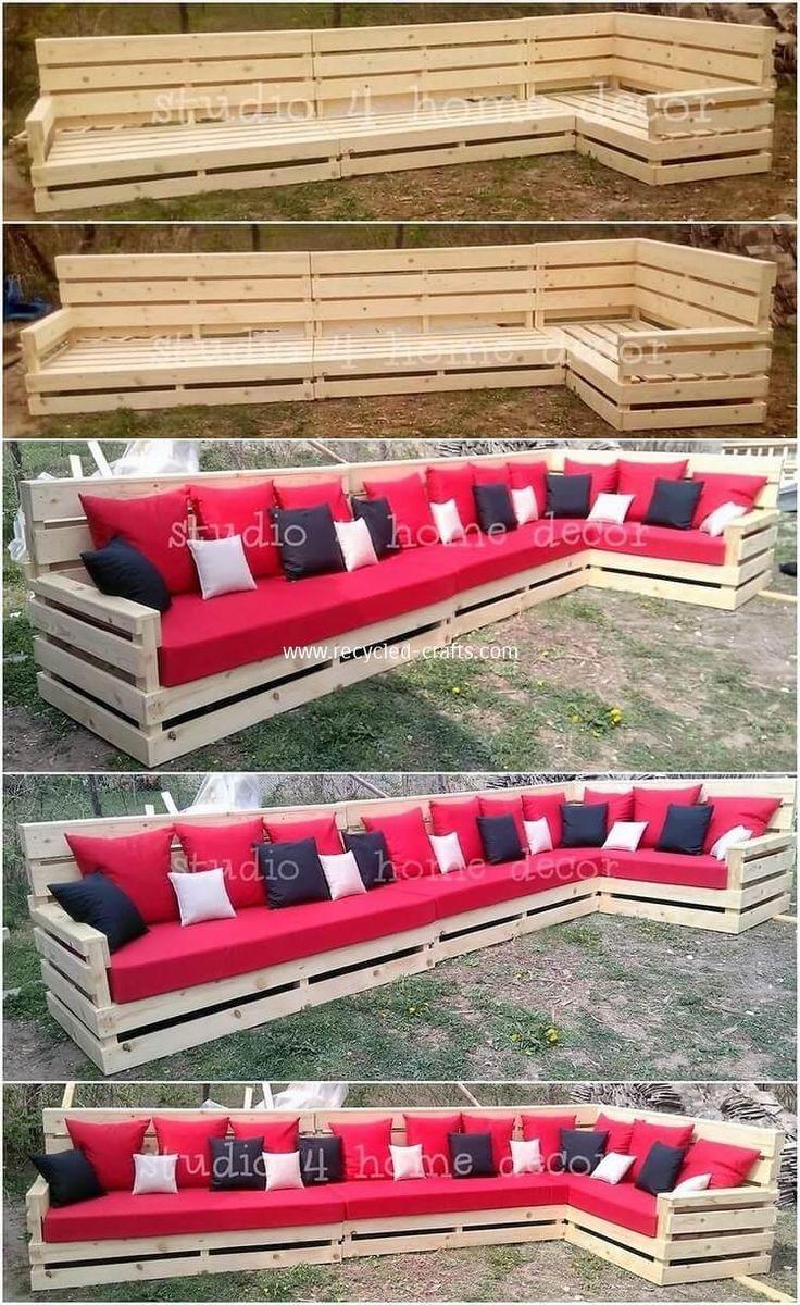 Comment Faire Une Balancelle En Palette 25 impressive diy ideas with recycled pallets en 2020