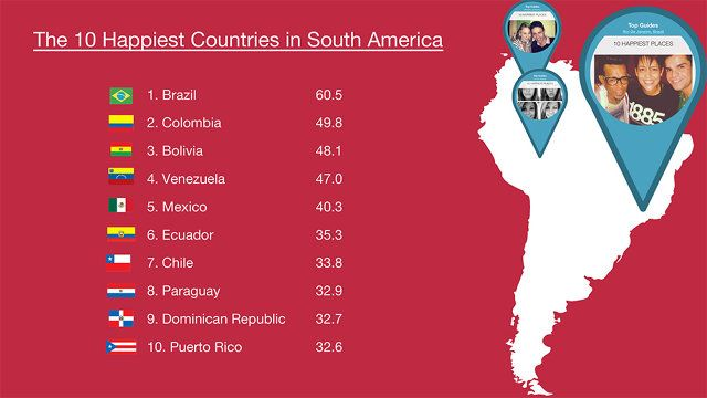 The Happiest Countries In The World (On Instagram) | Co.Exist | ideas + impact