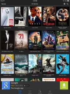 movies hd android apps