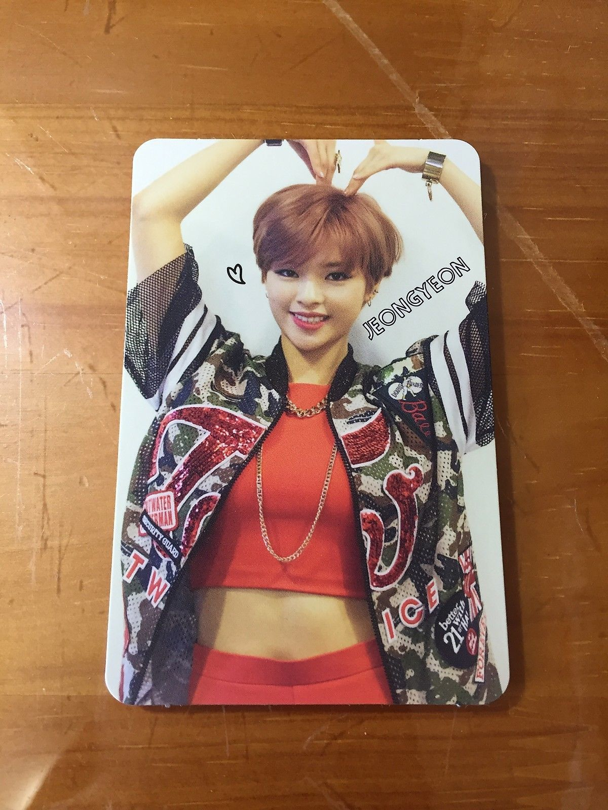 4 99 Twice Debut Album Like Ohh Ahh Red Card Jeongyeon