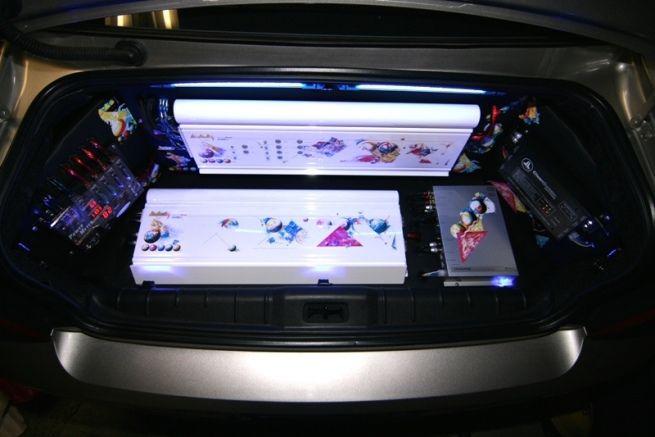 Old School Ppi Showoff Car Audio Installation Custom Car Audio Car Audio