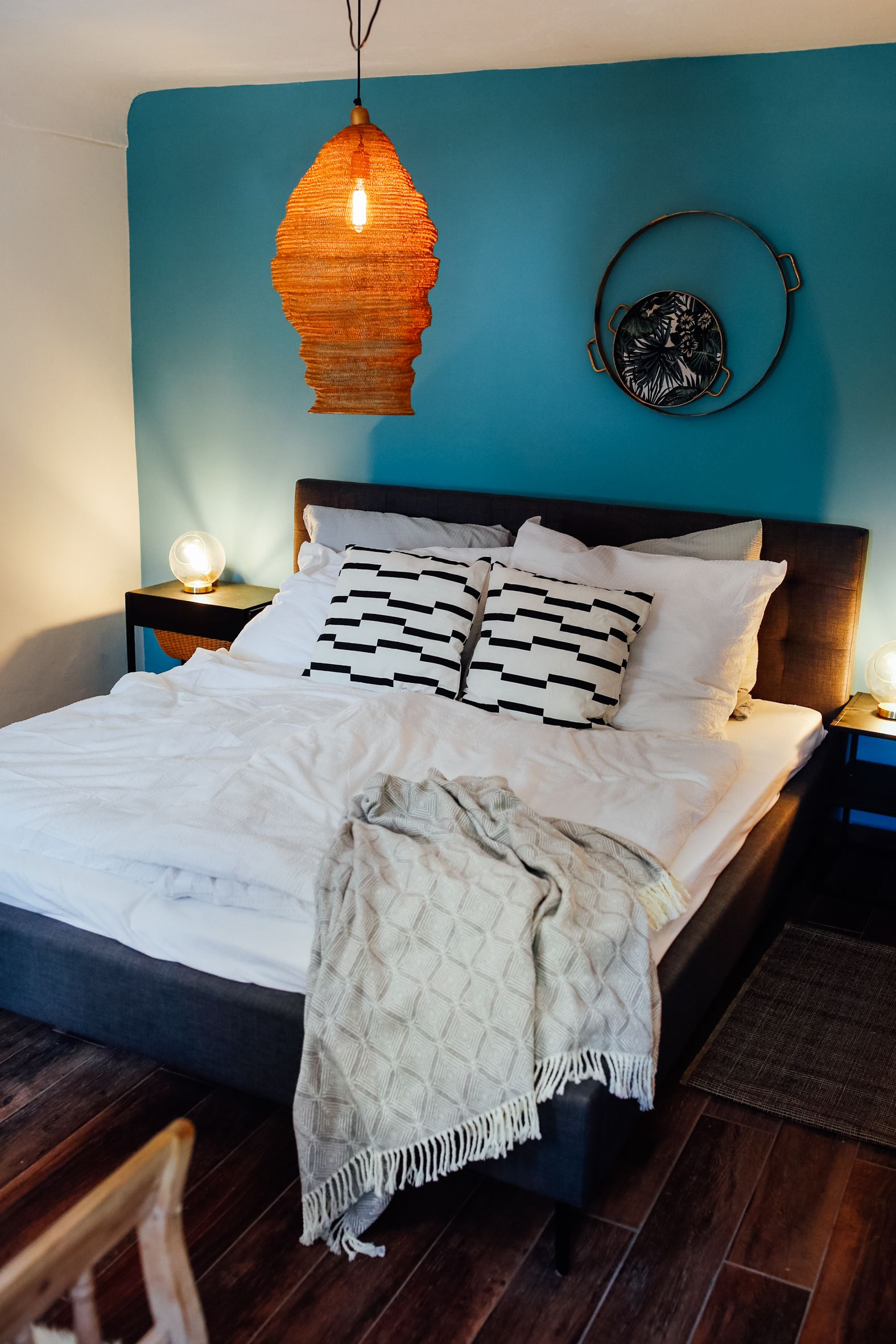 Schlafzimmer Ideen Türkis