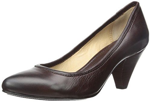 FRYE Women's Regina Pump Antiqued leather and a corset-laced look at the  heel bring FRYE's vintage personality to a classic pump silhouette.